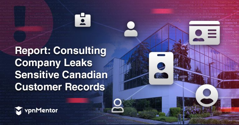 Consulting company leaks sensitive Canadian customer records